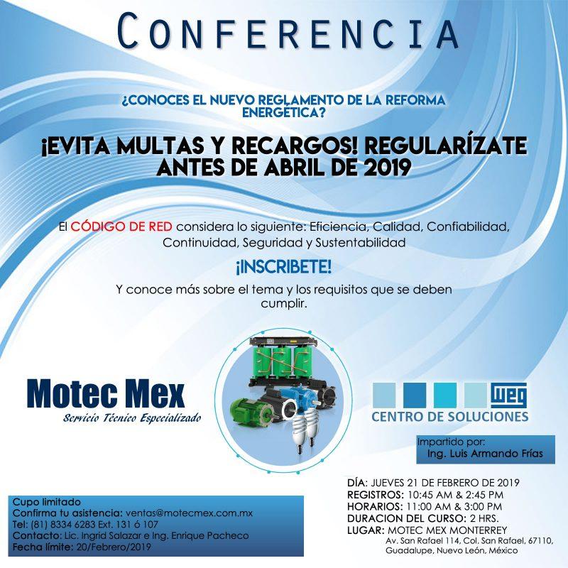 CONFERENCIA MOTEC MEX 2019